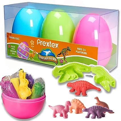 Amazon.com: prextex Jumbo – Relleno de sorpresa Huevos de ...