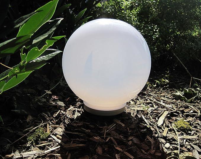 Lampada a sfera da giardino gloworb Ø cm grigio pietra