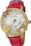 Betsey Johnson Women's BJ00446-04 Analog Display Quartz Pink Watch