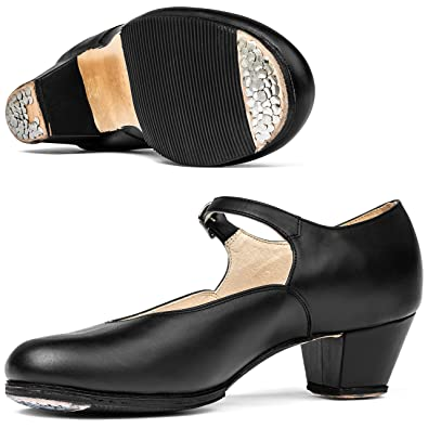 dc49be82 Miguelito 1710 Women's Folklorico Dance Shoes (23.5 MX / 5.5-6 US, Black