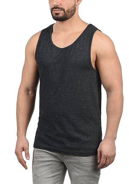 !Solid Andrew Camiseta Básica De Tirantes Tanque Tank Top con Cuello Redondo De 100% Algodón 2ujlm