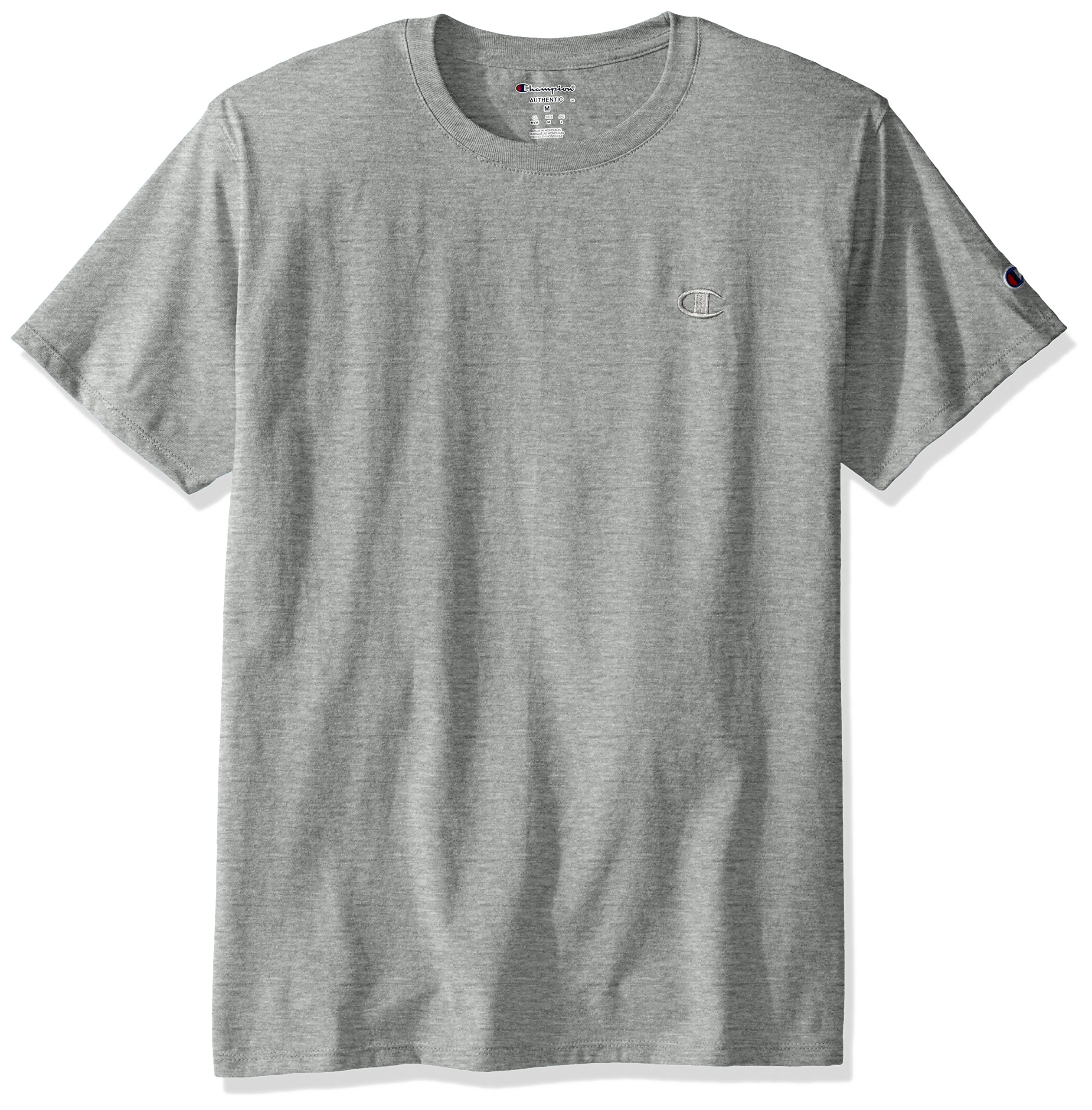 Champion Men's Classic Jersey T-Shirt, Oxford Gray, 2XL by Champion