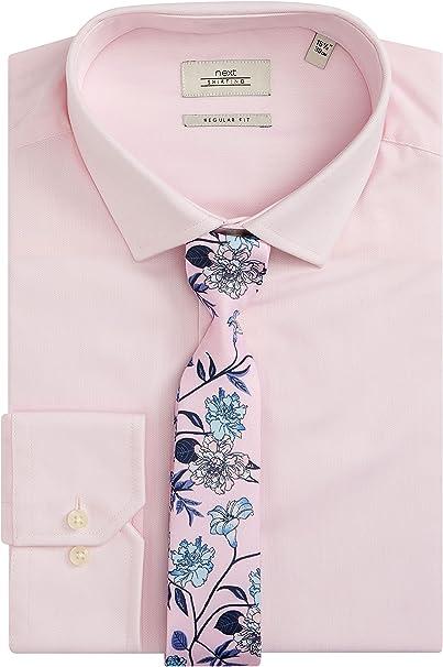 next Hombre Conjunto De Camisa De Corte Estándar Y Corbata ...