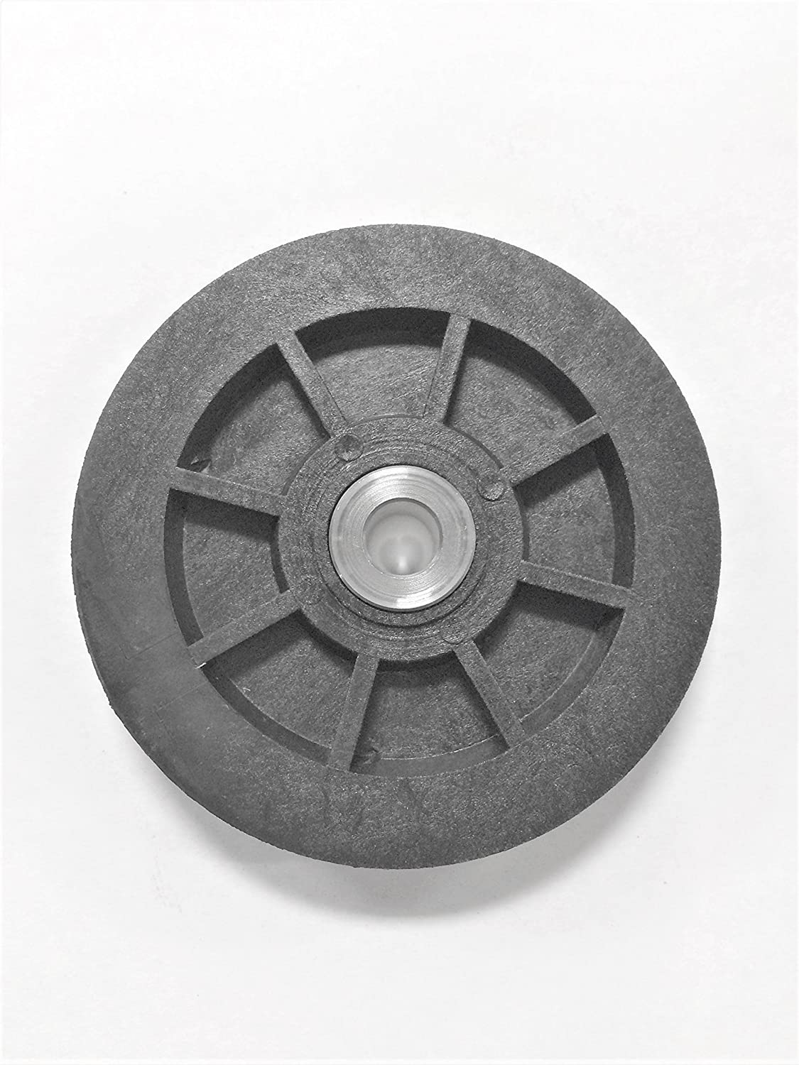 3 Lifetime Pulley Nylon Sheave with .375 inch ID Stainless Steel Bushing
