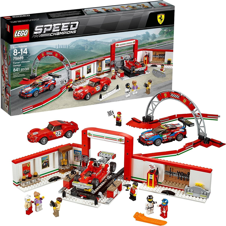 LEGO Speed Champions Ferrari Ultimate Garage 75889 Building Kit (841 Pieces)
