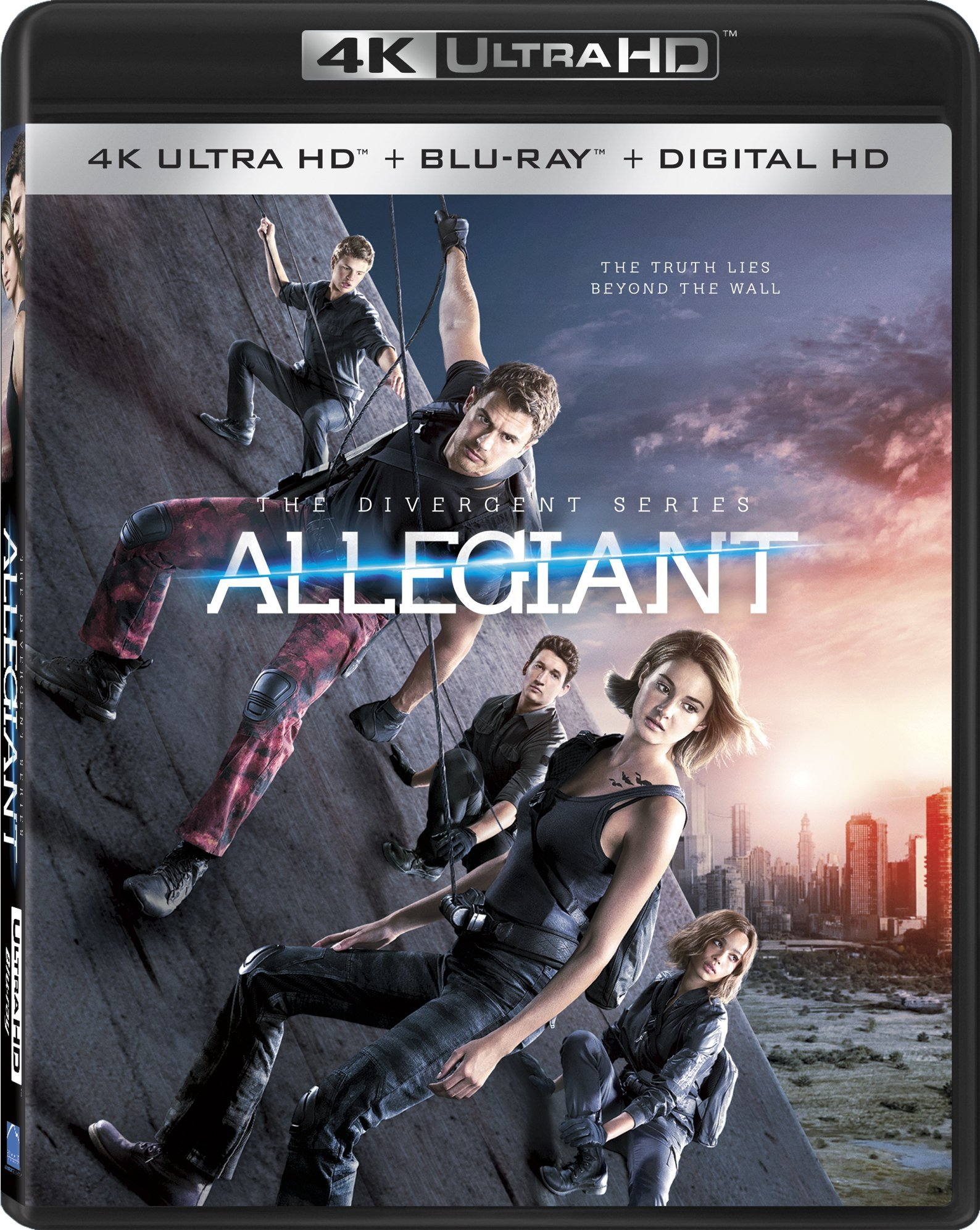 4K Blu-ray : The Divergent Series: Allegiant (AC-3, Digital Theater System, Widescreen, , Digitally Mastered in HD)