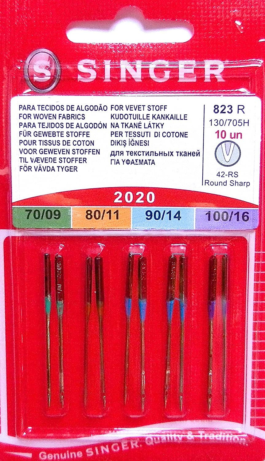 bergère de france GENUINE Singer 2020 Standard Needles For Woven uksewing. com Pack of 10 Distrifil 42153