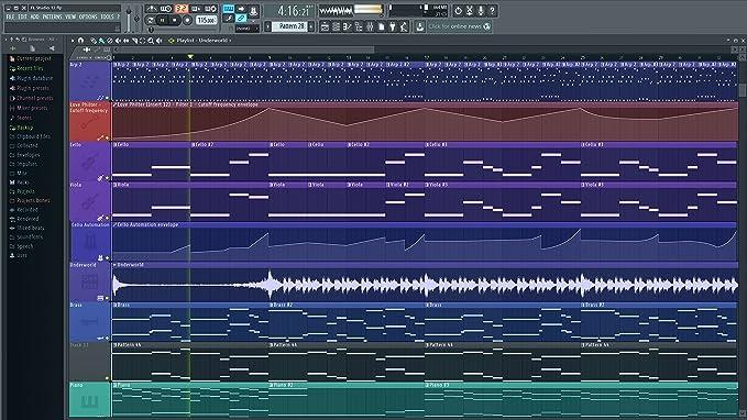 Image-Line FL Studio Signature Bundle 12 - Secuenciador basado en pistas y patrones
