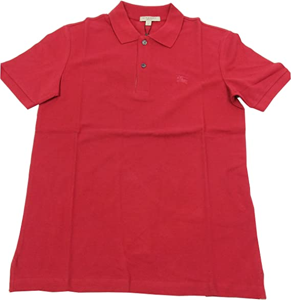 BURBERRY - Polo para Hombre OXFORD - Rojo (Military Red), L ...
