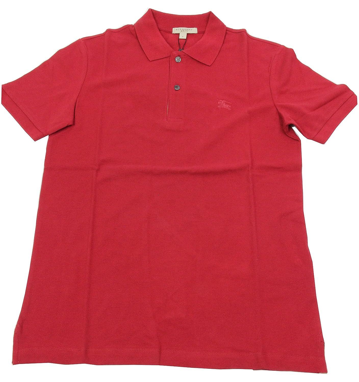 BURBERRY - Polo para Hombre OXFORD - Rojo (Military Red), L ...