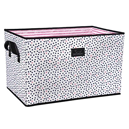 Attirant SCOUT Junque Trunk Extra Large Collapsible Storage Bin, Folds Flat With  Reinforced Bottom, Water