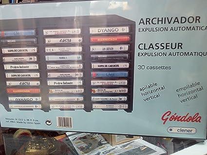 ARCHIVADOR Gondola para 30 Cassettes