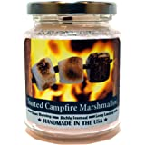 Toasted Campfire Marshmallow, Super Scented Natural Wax Candle (8 oz)