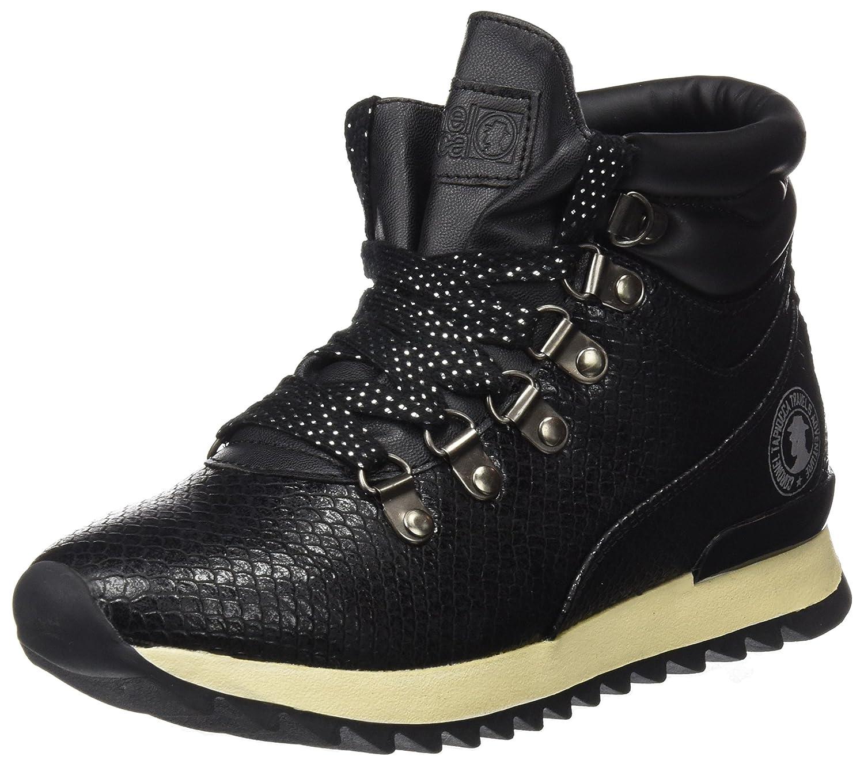 Coronel Tapioca Sport Serpe, Botines para Mujer38 EU|Negro (Black)