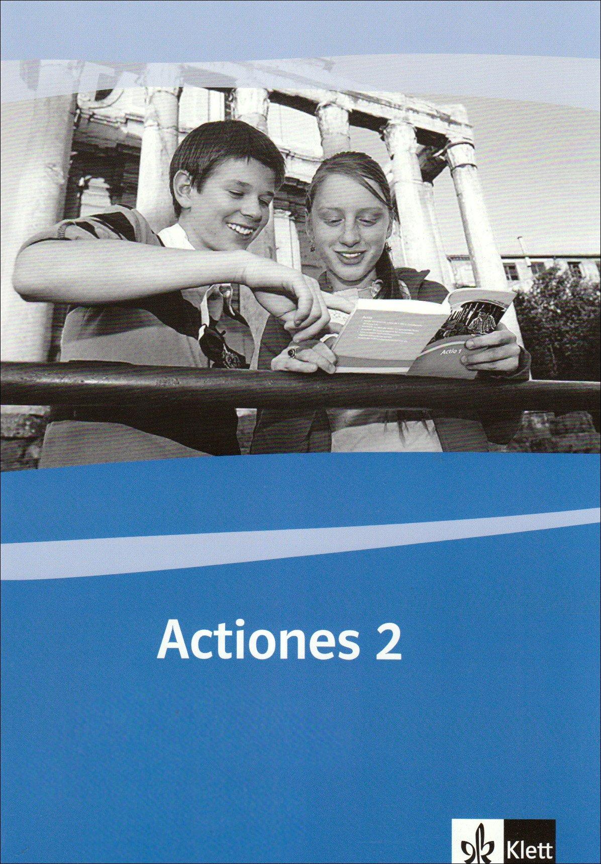 Actiones 2: Schülerarbeitsheft zu Actio 2 2. Lernjahr (Actio. Lateinisches Unterrichtswerk ab 2005) Broschüre – 1. Oktober 2006 Martin Holtermann Irmgard Meyer-Eppler Irmgard Meyer- Eppler Klett