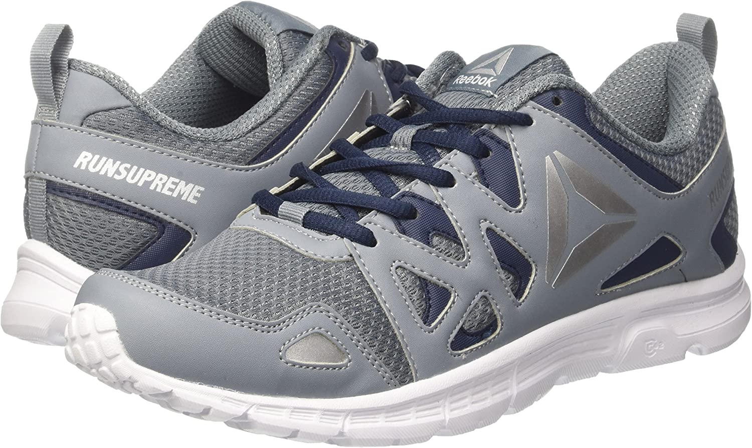Reebok BD2187, Zapatillas de Trail Running para Hombre, Gris (Asteroid Dust/Collegiate Navy/White/Pewt), 50 EU: Amazon.es: Zapatos y complementos