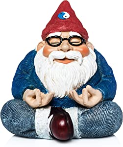 """The Miniature Ohm Gnome by Twig and Flower - 3"""" Tall"""