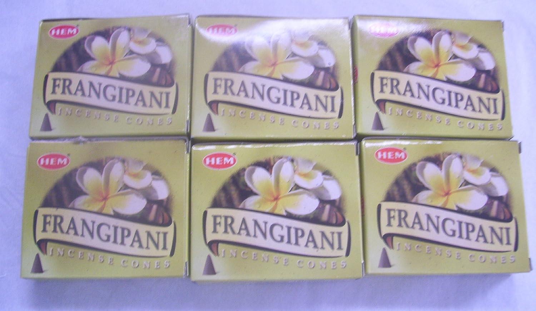Hem FRANKINCENSE Incense Cones Bulk Lot 6 Pack of 10 Cones = 60 Total FREE SHIP