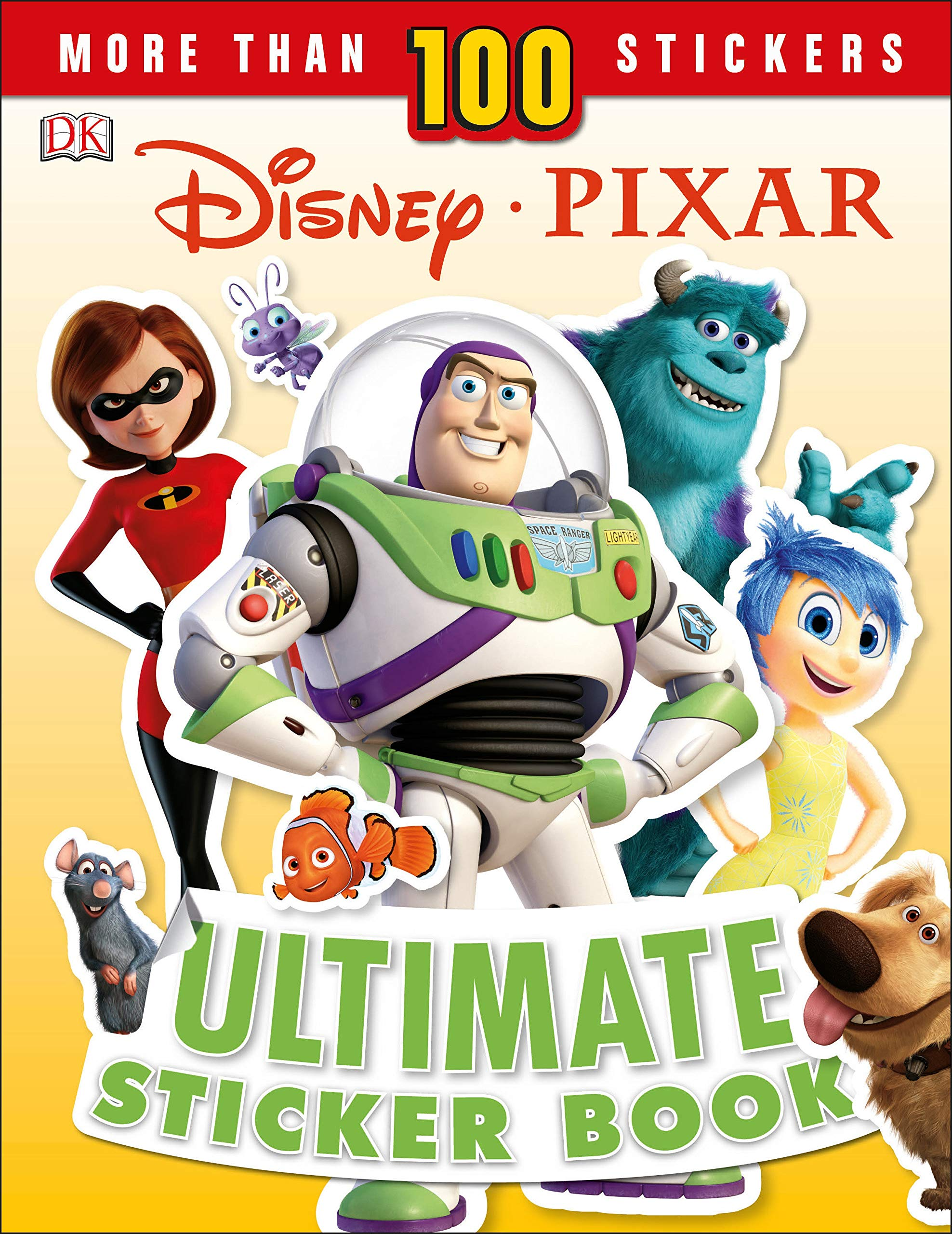 Image for Disney Pixar Ultimate Sticker Book, New Edition