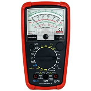 Tekpower TP7244 7-Function 20-Range Analog Multimeter