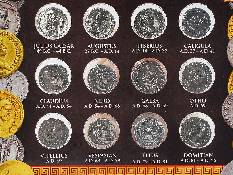 Nachbildung Forum Traiani Galba Sesterz Münze römischer Kaiser
