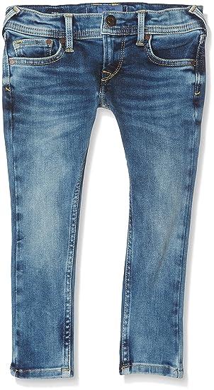 81edd988636e Pepe Jeans Finly Jeans Garçon Bleu (Denim) 2 Ans (Taille Fabricant 2