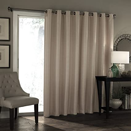 Garden Curtains Eclipse Thermal Blackout Tricia Patio Door Window Curtain Panel 100x84 Curtains, Drapes & Valances
