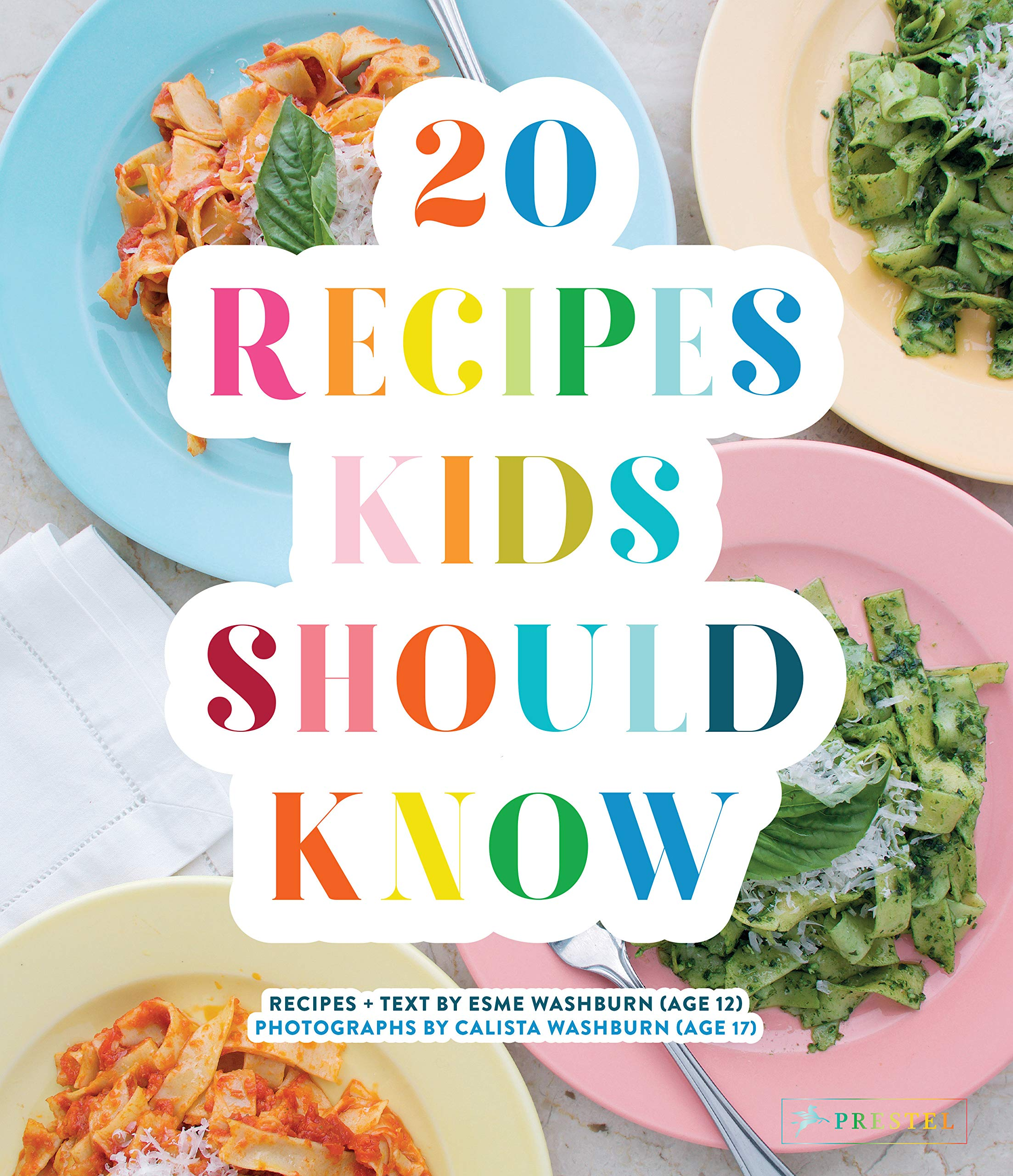 Amazon.com 20 Recipes Kids Should Know (9783791385075