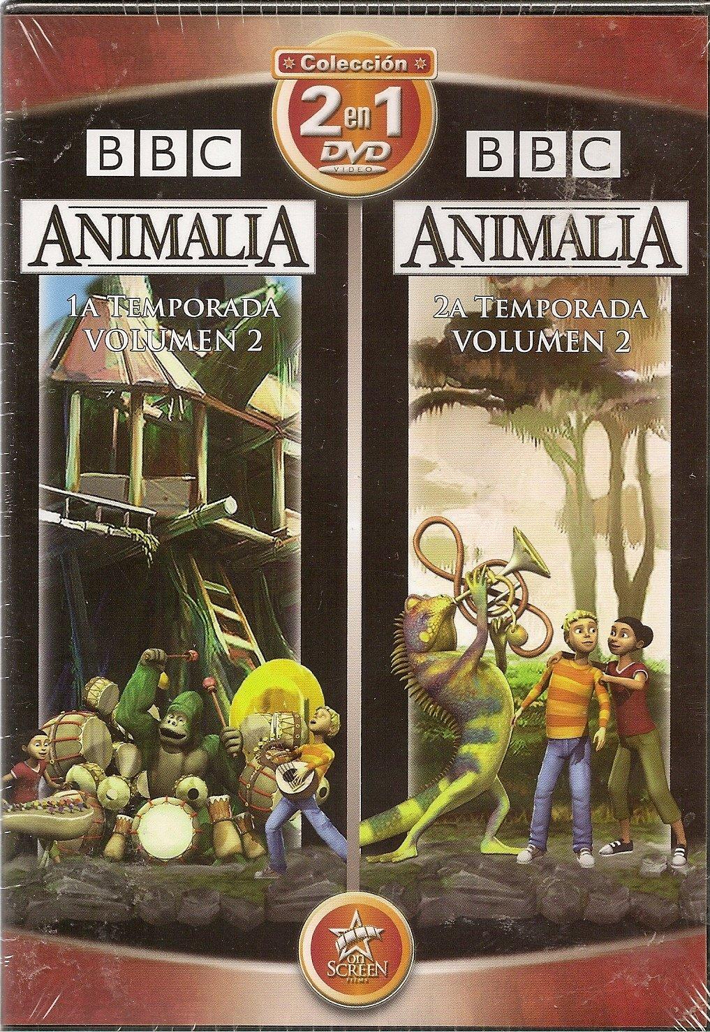 Amazon.com: Set 2 in 1 DVD Collection - Animalia: 1a ...