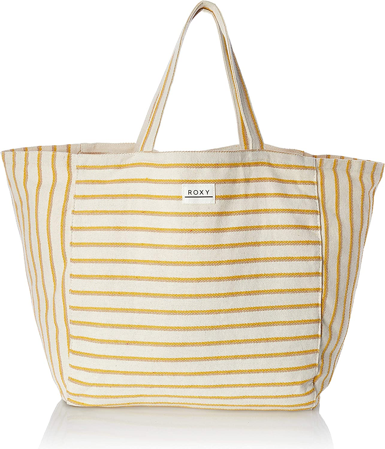 Roxy Time is Now Large Hemp Canvas Tote Bag