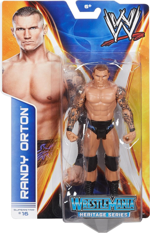 WWE Series #37 #16 Randy Orton WrestleMania 25 Figure