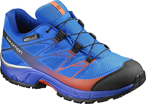 Salomon L39055300, Zapatillas de Trail Running para Niños, Azul (Bright Blue Yonder/Lava Orange), 31 EU: Amazon.es: Zapatos y complementos