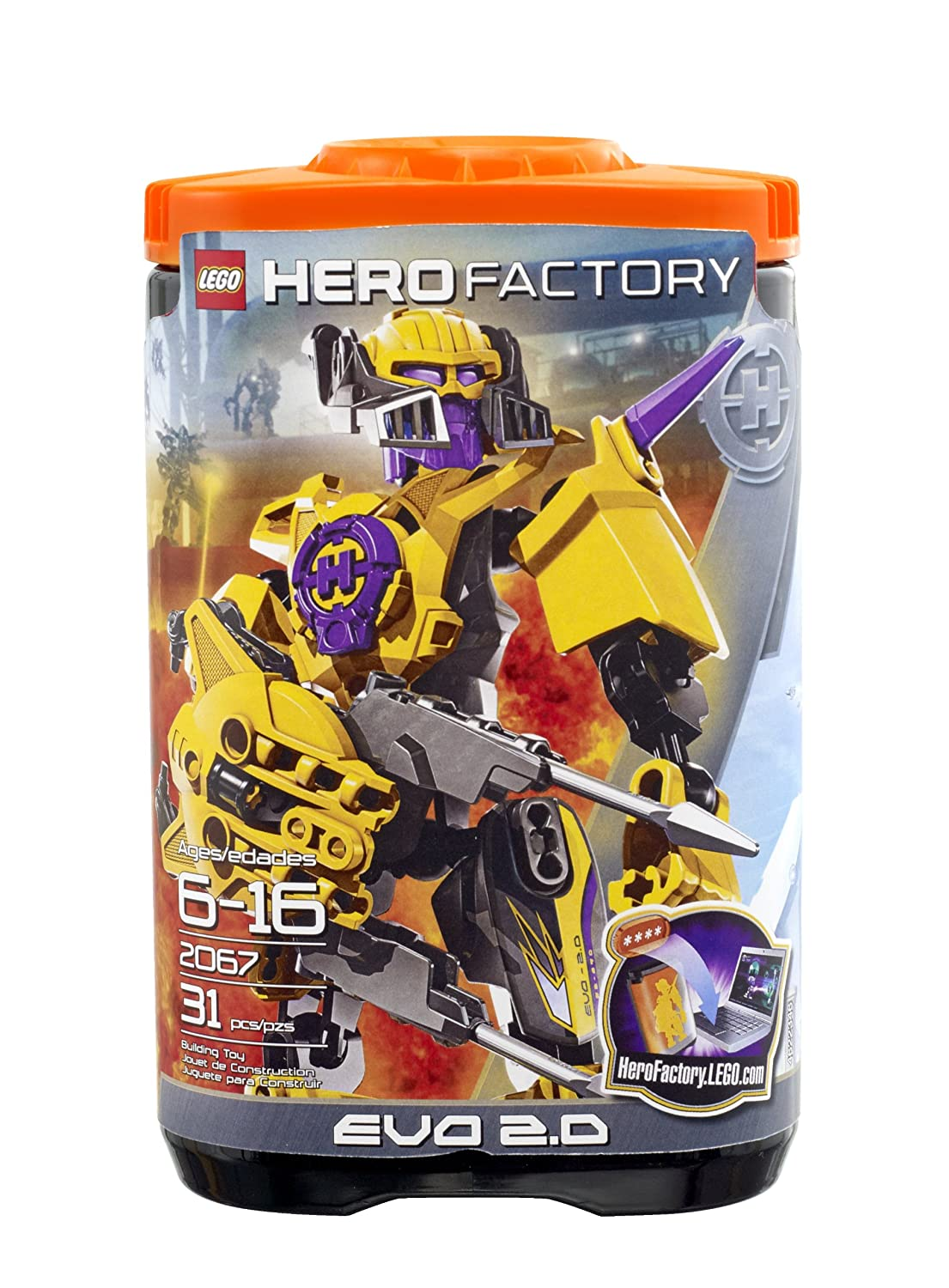 Buy Lego Hero Factory Evo 20 2067 Online At Low Prices In India
