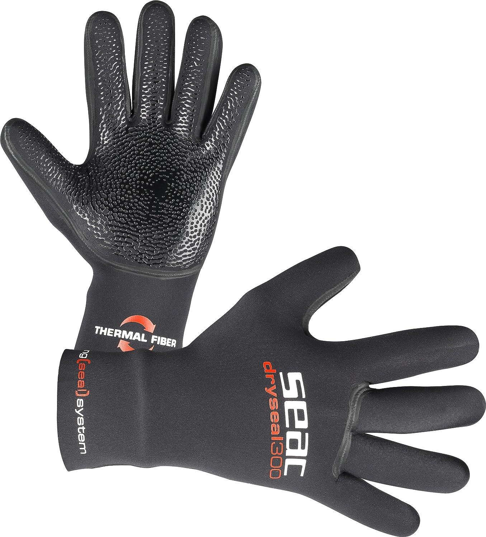 Colore: Nero Taglia S Seac SeacSub/ /DRYSEAL Gloves 300/3.5/mm