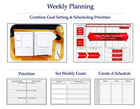 Amazon.com : Planners by Tools4Wisdom 2015 Goals Planner (+) ...