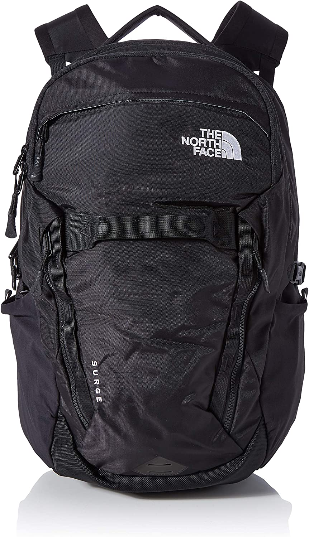 The North Face Surge, Mochila, Unisex adulto, Negro (TNF Black), Talla Única: Amazon.es: Deportes y aire libre