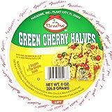 Paradise Cherry Halves, Green, 8 Ounce