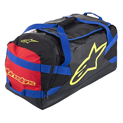 Alpinestars Goanna Duffle Bag, Black/Blue/Red/Yellow, One Size: Automotive
