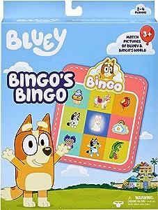 Bluey - Bingo's Bingo Card Game - Fun Matching Game Where You Match Images