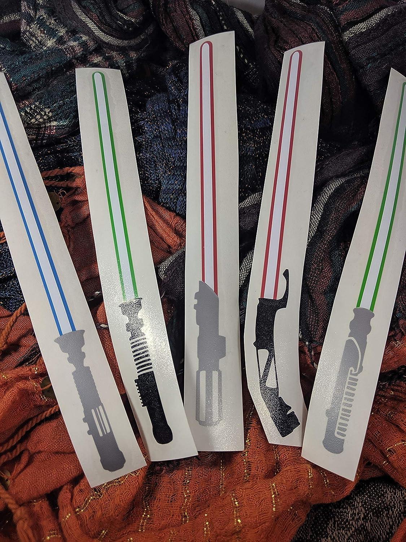 Lightsaber Decals - Star Wars - Jedi Sith - Vinyl Laptop Car Sticker …