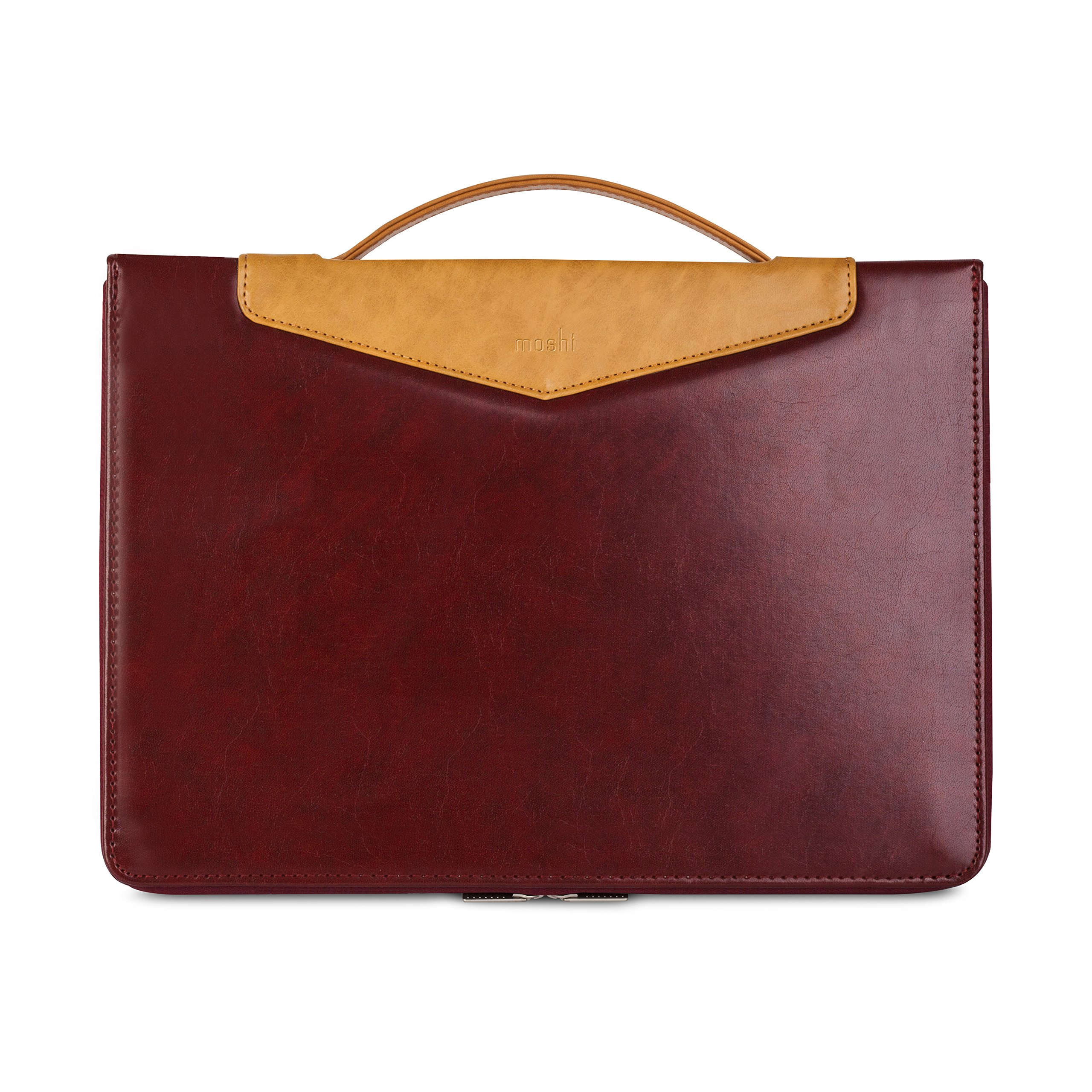 Moshi Codex Laptop Case for MacBook 15'' 2016 Models - Burgundy Red