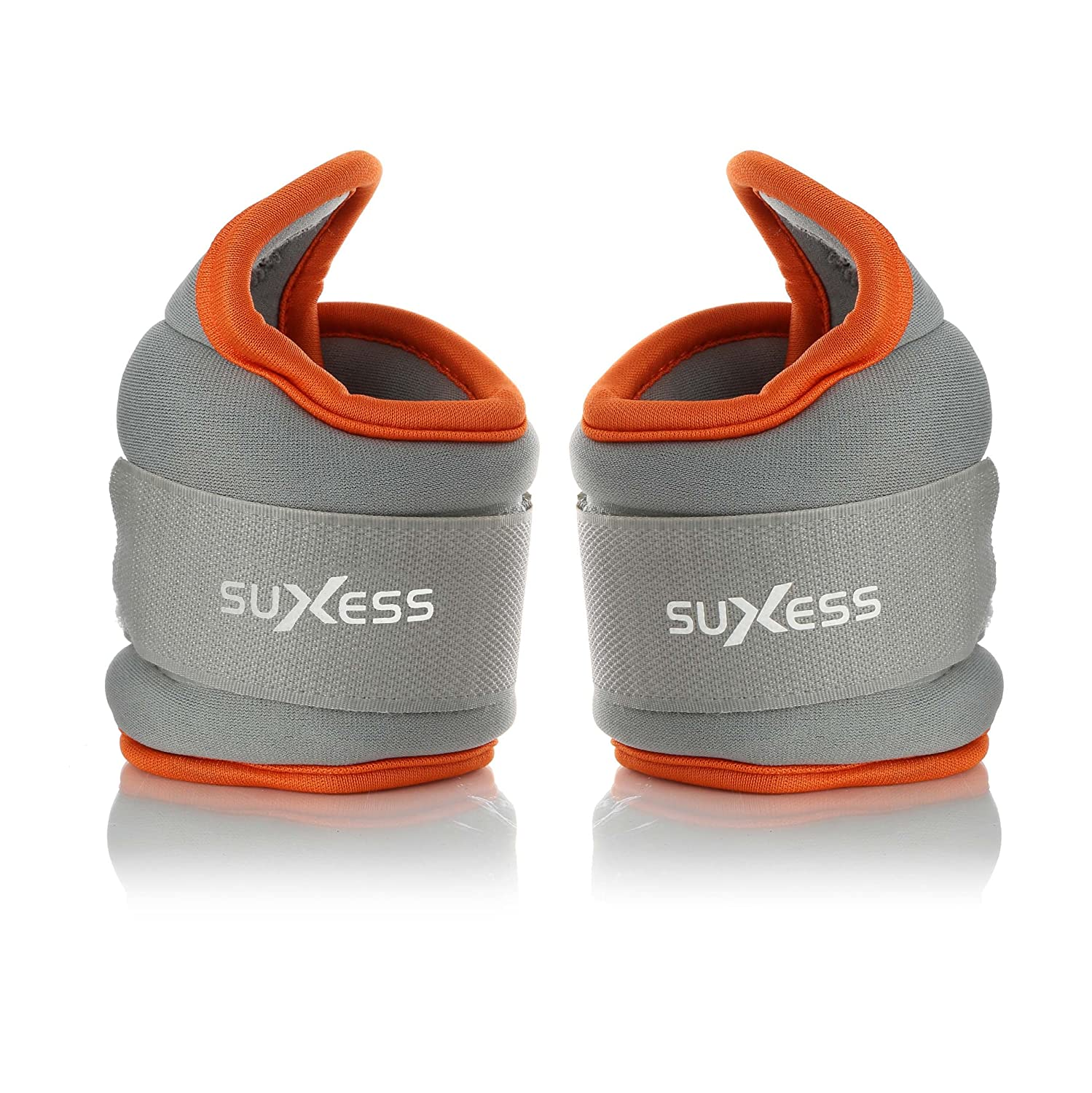 SuXess Fitness Gear Adjustable Padded Thumb-lock Wrist Weights   Comfortable, Wraps Naturally Around Your Wrist   Durable and Flexible for Any Type of Workout   1lb or 2lb, Anti Sweat Materials Anti Sweat Materials (1)