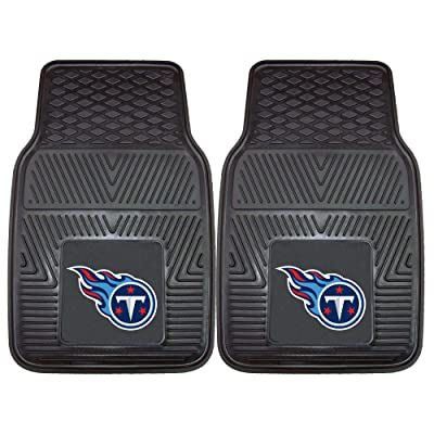 FANMATS NFL Tennessee Titans Vinyl Heavy Duty Car Mat: Automotive