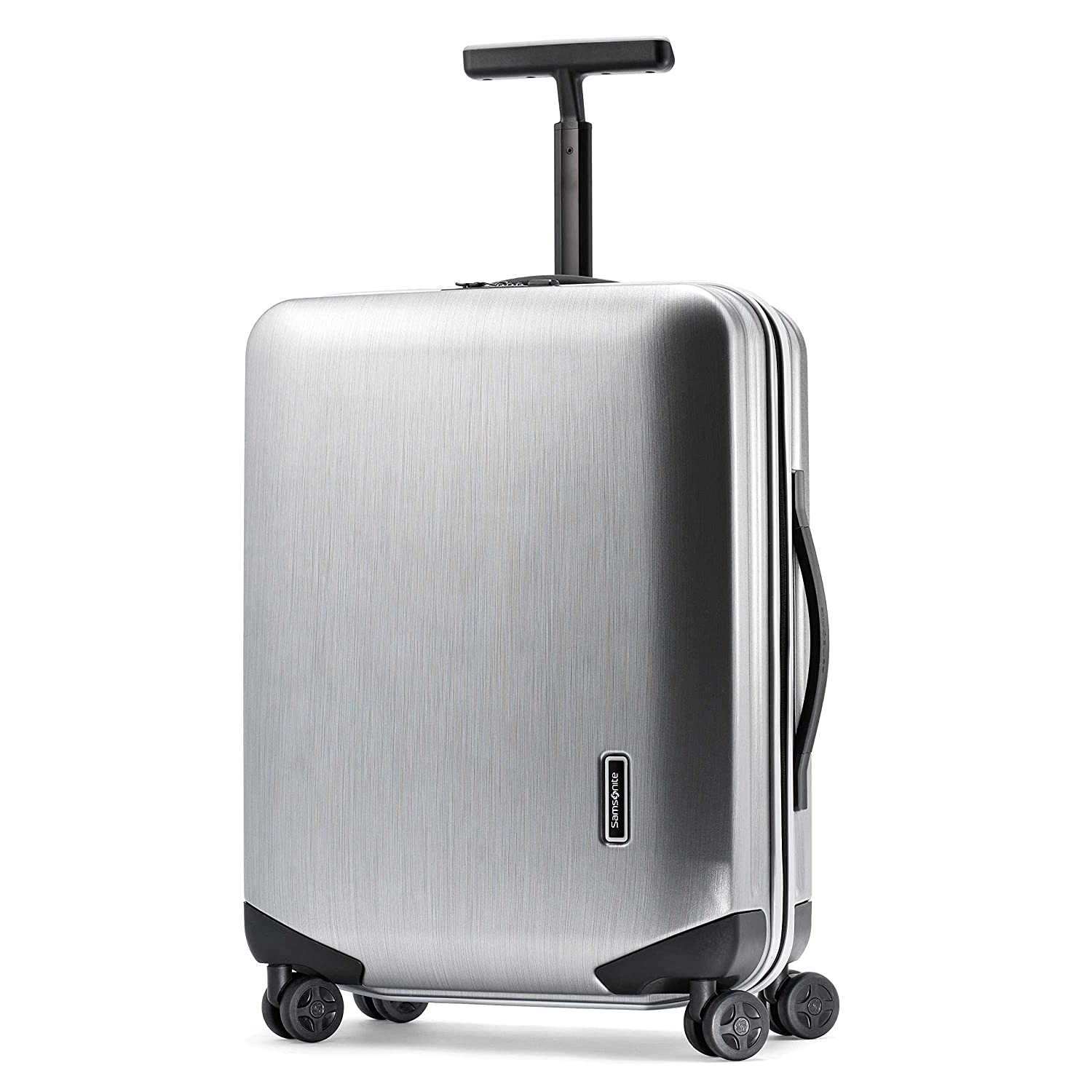 Amazon.com | Samsonite Luggage Inova Spinner, Metallic Silver ...