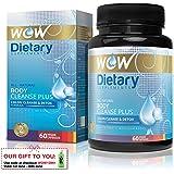 Wow Body Cleanse Plus - 60 Vegetarian Capsules