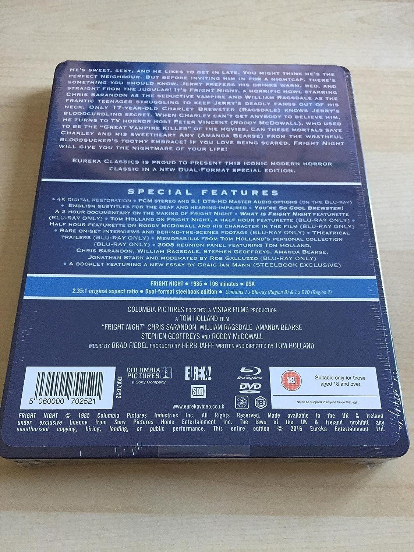 Amazon.com: Fright Night OOP Limited Edition Steelbook Blu Ray ...
