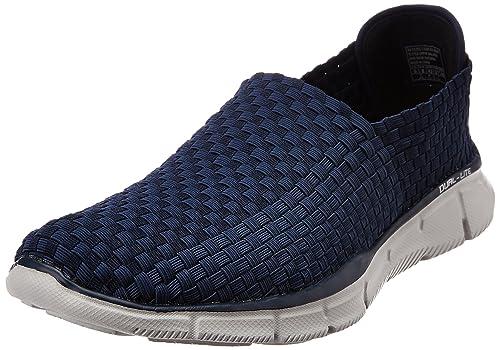 Skechers - Equalizer Familiar, Zapatillas Deportivas para Interior Hombre, Azul (Navy Nvy), 39.5 EU: Amazon.es: Zapatos y complementos