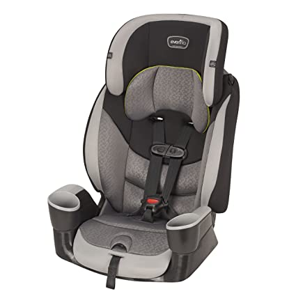 Evenflo Maestro Sport Harness Booster Car Seat - Convenient Belt-Positioning Use