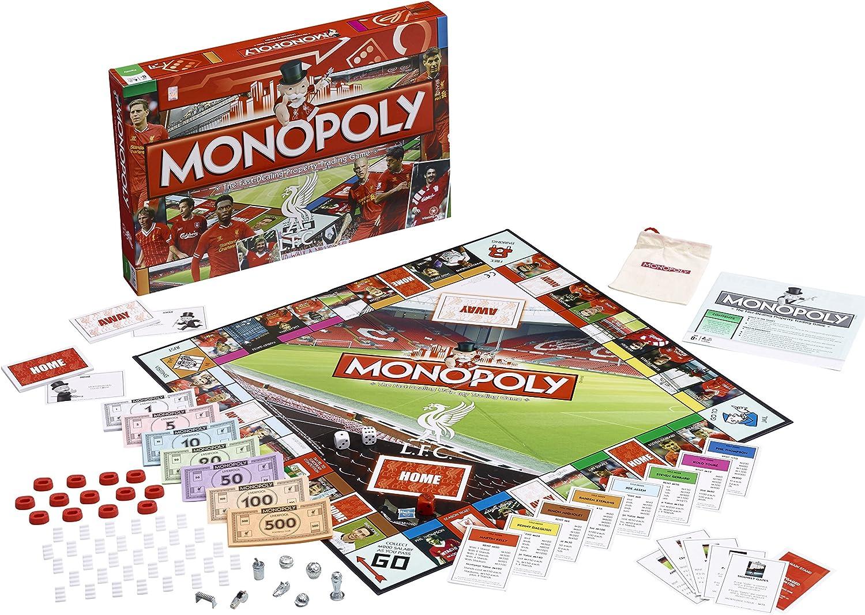 Monopoly - Juego de Mesa, de 2 a 8 Jugadores (Winning Moves UK 12456) (Importado): Amazon.es: Deportes y aire libre