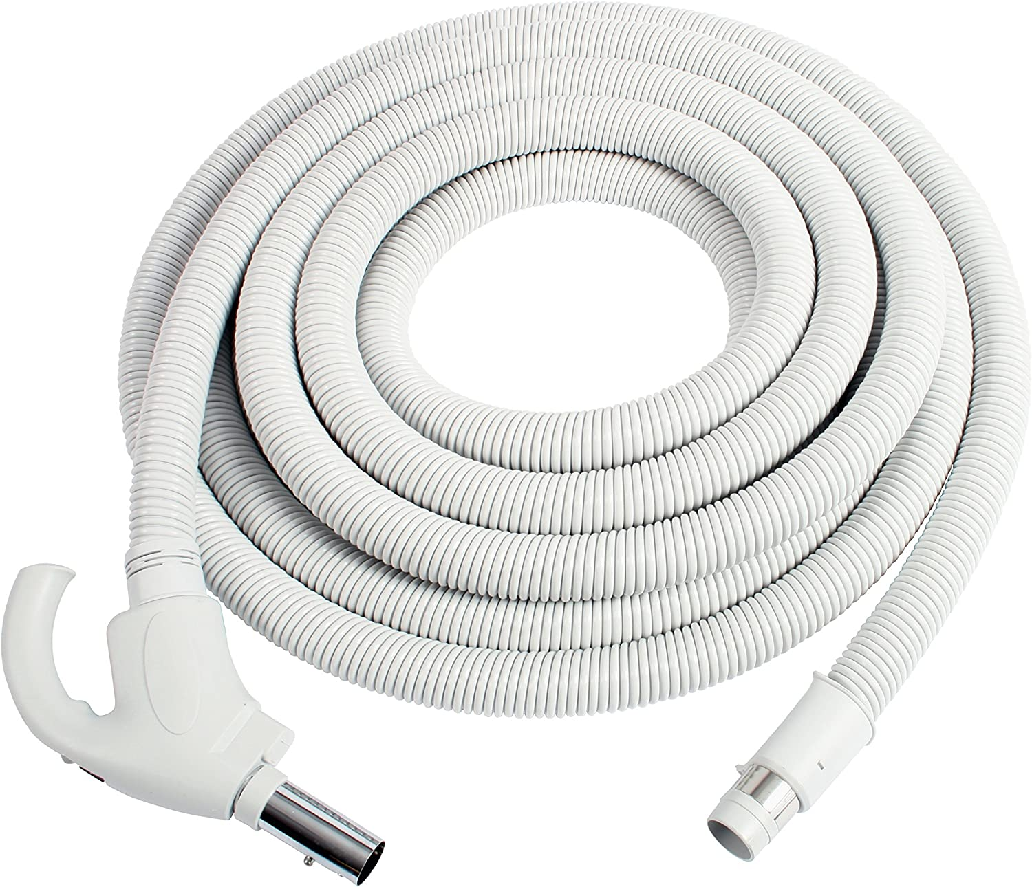 Cen-Tec Systems 91353 Central Vacuum Hose, 40 Ft, Light Gray